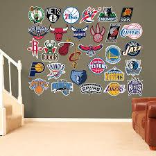 amazon com nba all teams logos collection all 30 team logos