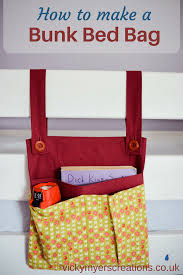 diy bunk bed storage bag organizer bed storage bunk bed and