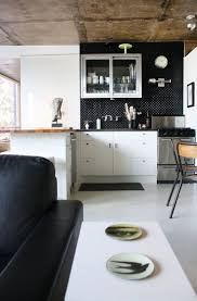 Black Backsplash In Kitchen 11 Best Black White Cream Gray Kitchens Images On Pinterest