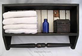 build an easy bathroom shelf diy hometalk