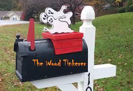 mailbox halloween season decoration youtube