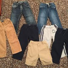 find more lot of 3t boy bottoms navy baby gap athletic