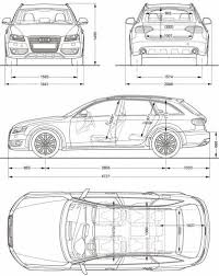 2010 audi a4 features the blueprints com blueprints cars audi audi a4 allroad