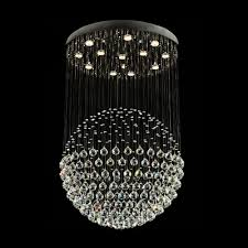 Chandelier With Crystal Balls Fashion Style Chandeliers Led Crystal Lights Beautifulhalo Com