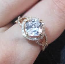 engagement rings cushion cut cushion cut moissanite engagement ring setting forever one