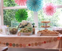country bridal shower ideas charming bridal shower table decorations with wedding shower table