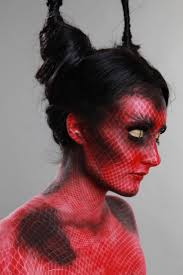 Scary Halloween Costumes 10 Olds 25 Devil Makeup Ideas Fire Makeup Theatrical