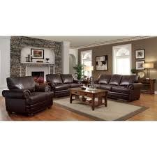 Brown Leather Living Room Set Leather Living Room Sets You Ll Wayfair