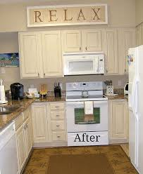 Painting Kitchen Cabinets Kitchen Cabinet Remake Pickled To Beachy Hometalk