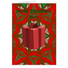 merry christmas boss cards merry christmas boss greeting cards