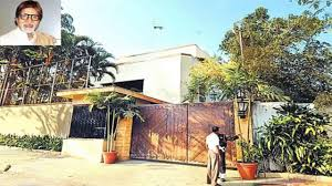amitabh bachchan house in mumbai from inside video video dailymotion