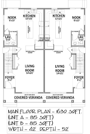 family house plans 1000 images about multi family units on pinterest house plans