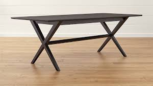 Crate And Barrel Table Spotlight Ebony Dining Table Crate And Barrel