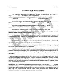 separation agreement form create a free separation agreement
