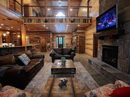 cabin open floor plans the rustic lodge brand new luxury cabin in vrbo pictures of open