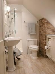 narrow attic bathroom www rilane com refreshing bathroom