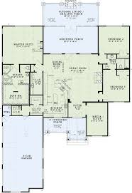 3 Bedroom Floor Plans With Garage Best 25 One Level Homes Ideas On Pinterest One Level House