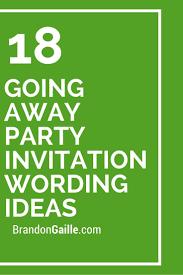 going away invitation wording kawaiitheo