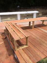 Backyard Decking Ideas by Best 25 Deck Benches Ideas On Pinterest Deck Bench Seating