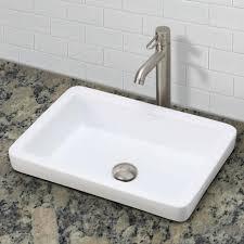 bathroom sink rectangle sink bowls copper bathroom sinks white
