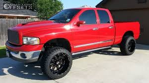 2002 dodge ram 1500 moto metal mo962 maxtrac suspension lift 7in