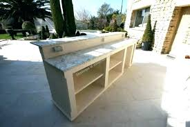 cuisine bois beton meuble cuisine exterieure bois meuble cuisine exterieur on