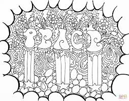 peace doodle coloring page free printable coloring pages