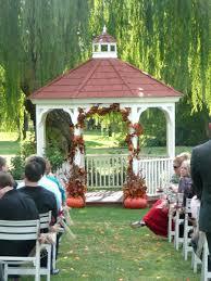 Fall Wedding Aisle Decorations - gazebo decorating gazebo ideas ceremony arch best outdoor