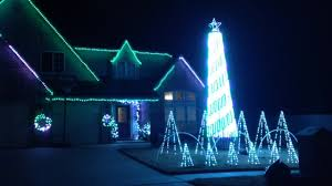 house with christmas lights to music broken arrow house with christmas lights set to music youtube
