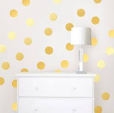 wall pops wpd1642 gold confetti dot decals amazon com
