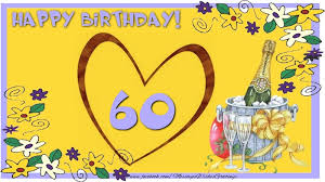60 years birthday happy birthday 60 years messageswishesgreetings