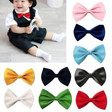 children boys toddler infant solid bowtie pre wedding