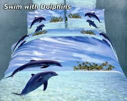 swim with dolphins q bedding by dolce mela full queen duvet low