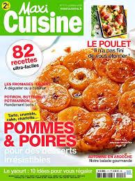 recettes maxi cuisine achat magazine maxi cuisine n 111 en numérique