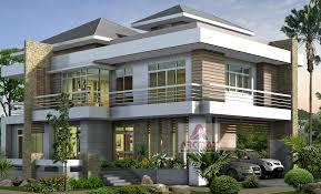 duplex design 3d exterior view making duplex home cottages villa