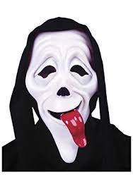 Scream Wazzup Meme - adult ghost face scary movie wassup mask fancy dress co