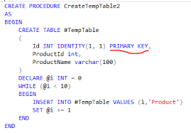 Sql Declare Temp Table How To Cache Temp Tables In Sql Server Hasan Savran