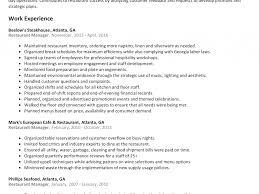 Restuarant Manager Resume Restaurant Manager Resume Resume Cv Cover Letter