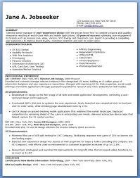 Professional Resume Design Templates Ux Designer Resume Experienced Creative Resume Design