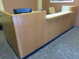 2 Person Reception Desk Penny Worley Auctioneers