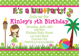 Create Your Own Invitation Card Jaw Dropping Luau Birthday Party Invitations To Inspire You