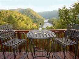 river magic romantic luxury log cabin homeaway springs