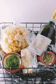 What Is A Good Hostess Gift by Italian Gift Basket For The Holidays Via Playswellwithbutter