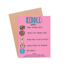 baby cards new riddle card pregnancy and new baby cards