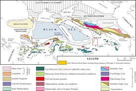Map Of Eurasia Fig 1 Late Palaeozoic Early Cenozoic Tectonic Development Of