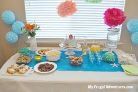 the sea party ideas mermaid or the sea party ideas inspiration my frugal