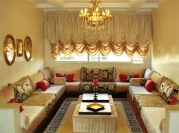 décor arabe découration salon marocain photo deco maison idées