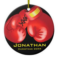 boxing gloves ornaments keepsake ornaments zazzle