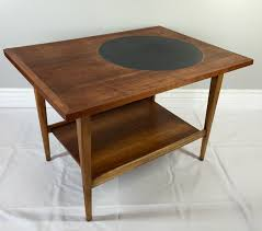 lane furniture coffee table lane furniture end tables mid century modern altavista walnut black