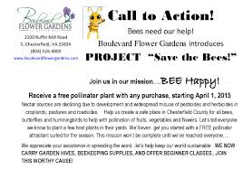 project u201csave the bees u201d u2013 boulevard flower gardens rockwood